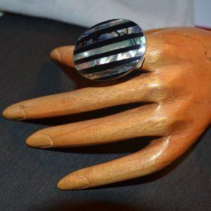 Δαχτυλίδι από Ινδονησία μέ φίλντισι