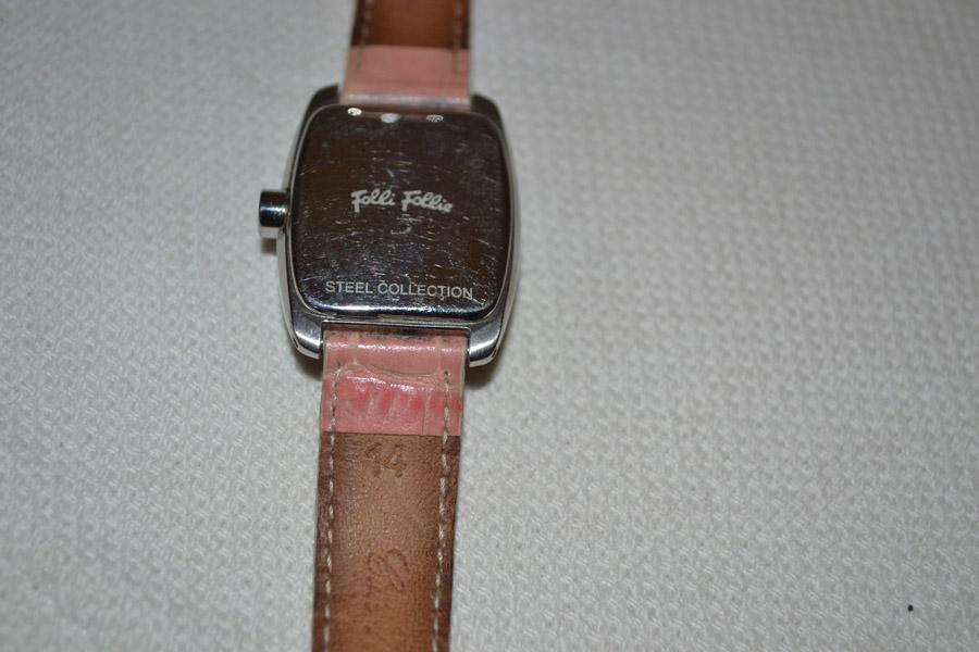 21e289318d Ρολόι γυναικείο Folli Follie μέ ροζ λουράκι - Vintage Kosmima ...